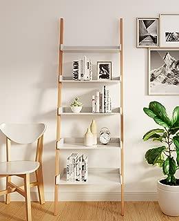 Universal Expert Remus Ladder Bookshelf, Oak/White