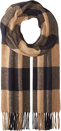 Scotch & Soda - Woven Gentleman's Scarf in Soft, Brushed Quality with Check