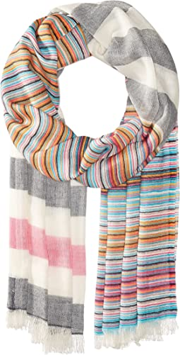Echo Design - Multi Stripe Wrap Scarf