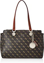 GUESS Womens Society Carryall, Brown Multi - SG743709