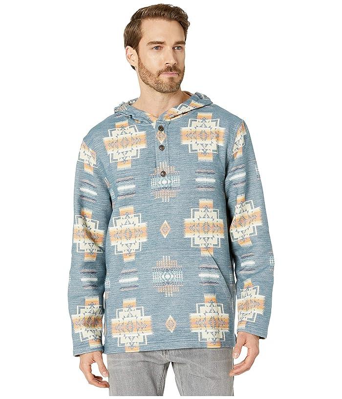 Beach Hoodie (Chief Joseph Blue) Men's Clothing