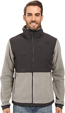 622dae9f0e7f The novelty denali jacket fusebox grey sherpa rosin green