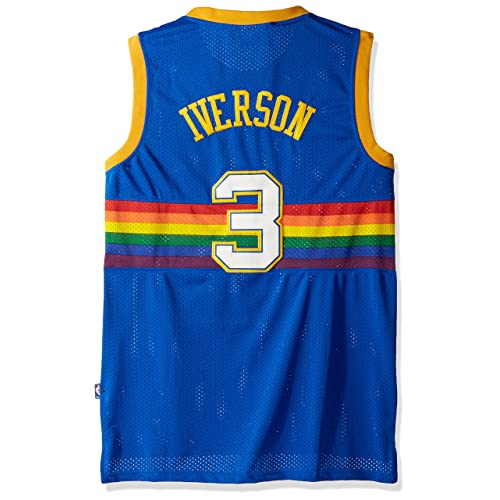 dbbe828fa5a adidas Dikembe Mutombo Denver Nuggets NBA Throwback Swingman Jersey - Blue
