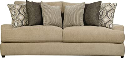 Amazon.com: Simmons Upholstery Grandstand Flannel Loveseat ...