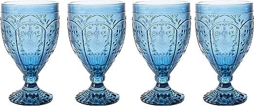 Best cobalt blue depression glassware Reviews