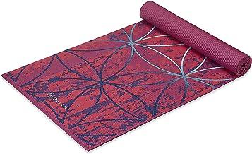 Gaiam Yoga Mat - Premium 6mm Print Extra Thick Non Slip Exercise & Fitness Mat for All Types of Yoga, Pilates & Floor Work...