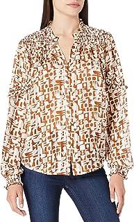 Scotch & Soda Transparentes Shirt mit Print dames Shirt