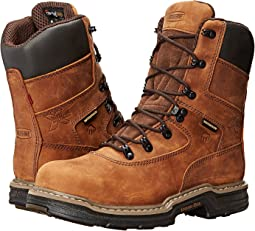 "Wolverine Marauder Multishox Waterproof 8"" Steel Toe Boot"