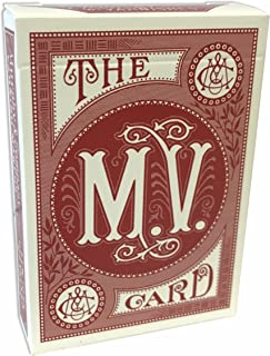 A. Dougherty Playing Cards, Murphy Varnish, Red
