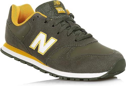 New Balance Sneakers Verde Militare Scarpe Bambino Ragazzo ...