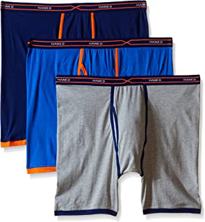 Men's 3-Pack X-Temp Active Cool Long Leg Boxer Brief