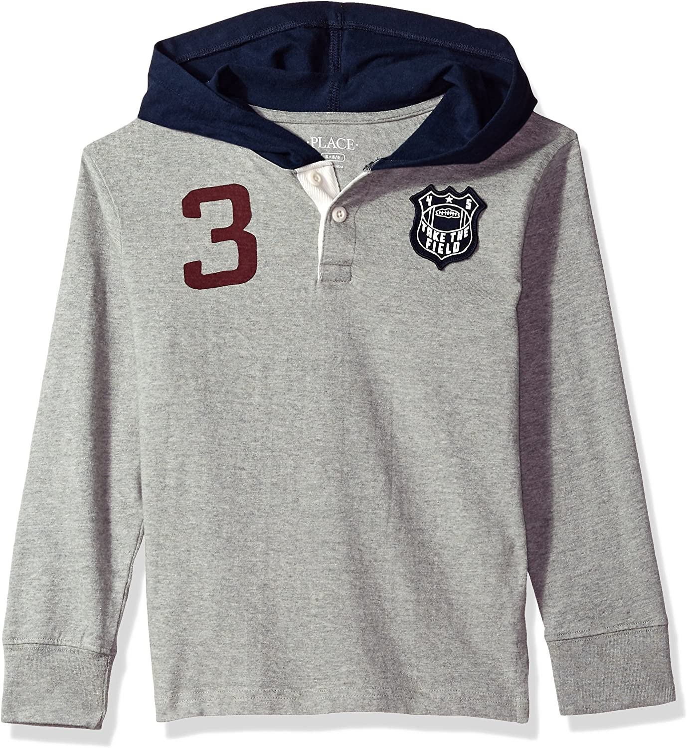 The Children's Place Baby Boys' Long Sleeve Knit Hoodie