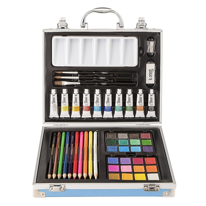 Studio 71 30063140 Watercolor, 52 Pieces Art Set,