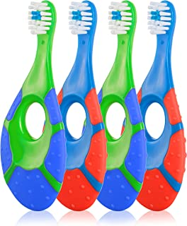 Farber Baby Toothbrush & Toddler Toothbrush for 0-2 Years Old