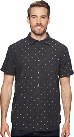 The North Face - Short Sleeve Bay Trail Jacquard Shirt