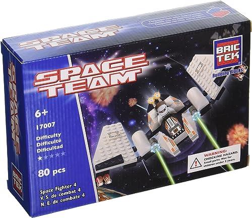 productos creativos Brictek 4 Space Space Space Fighter Building Kit  primera reputación de los clientes primero