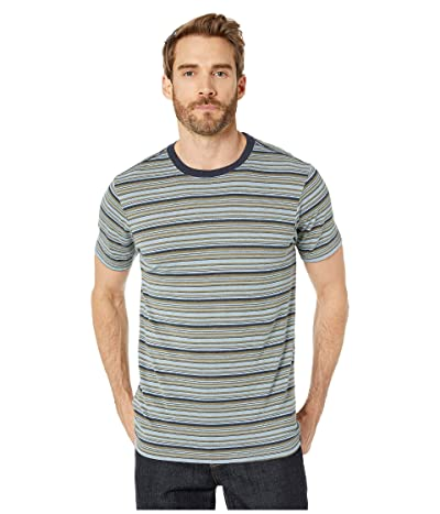 Prana Dustin Short Sleeve Crew (Rain) Men