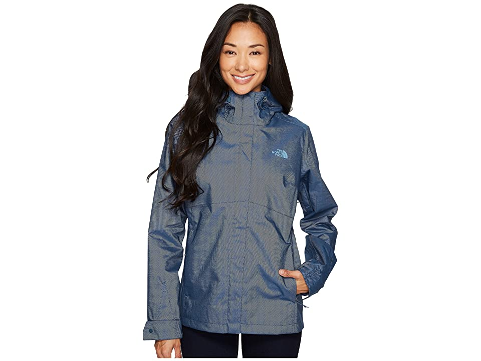 The North Face Berrien Jacket (Ink Blue Denim (Prior Season)) Women