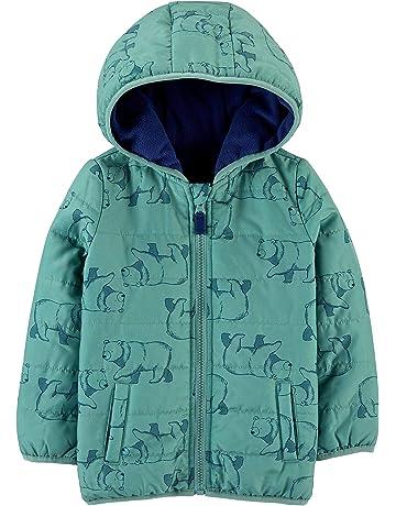 Cappotto Impermeabile Per Bambini Giacca con cappuccio in pile ragazza Passeggino Baby 12-24 NUOVO!