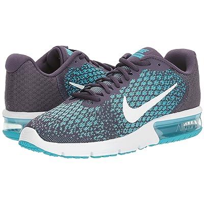 Nike Air Max Sequent 2 (Dark Raisin/White/Chlorine Blue) Women
