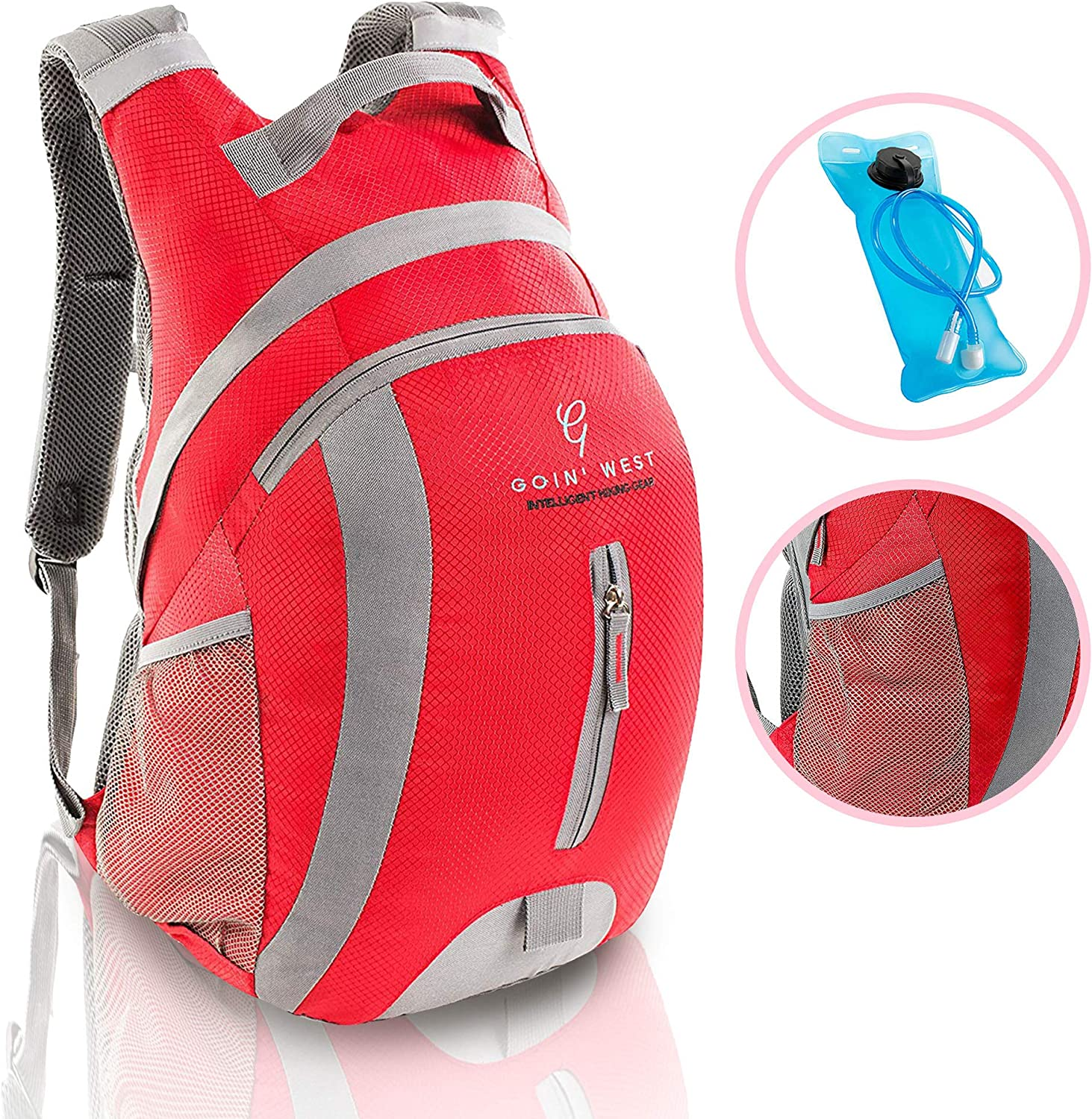 30L Hydration Pack Recommended Hiking Backpack 4 years warranty Ultralight Extremely Comfo -