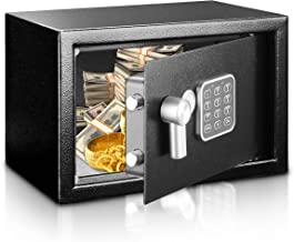 Safe and Lock Box - Safe Box, Safes And Lock Boxes, Money Box, Safety Boxes for Home, Digital Safe Box, Steel Alloy Drop S...