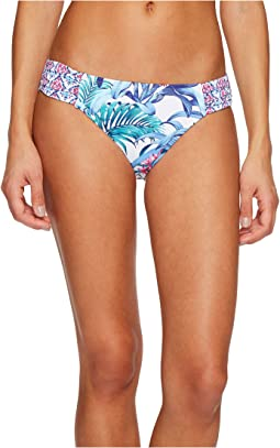 Tommy Bahama - Majorelle Jardin Side-Shirred Hipster Bikini Bottom