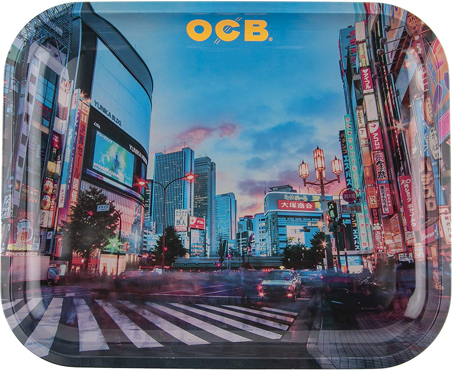 Challenge the lowest price of Japan ☆ OCB Rolling Tray Tokyo Max 75% OFF Large -