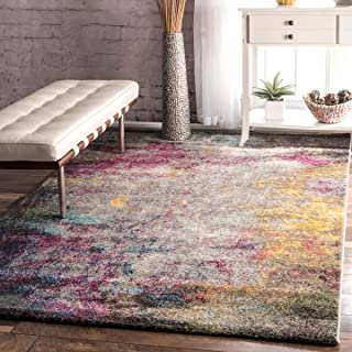 nuLOOM Abstract Area Rug, 8' 10