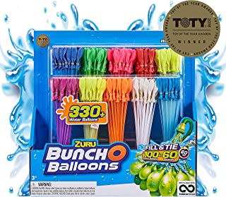Bunch O Balloons – 350 Rapid-Fill Water Balloons (10 Pack) Amazon Exclusive, Multi-Colored