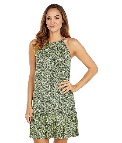 MICHAEL Michael Kors Floral Chain Halter Dress
