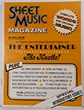 SHEET MUSIC MAGAZINE Special Introductory Issue