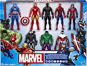 Marvel Avengers Action Figures - Iron Man, Hulk, Black Panther, Captain America, Spider Man, Ant...