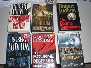 Ambler Warning 2003, Apocalypse Watch 1995, Bourne Supremacy 1986, Bourne Legacy 2004, Prometheus Deception 2000 & Bourne ...