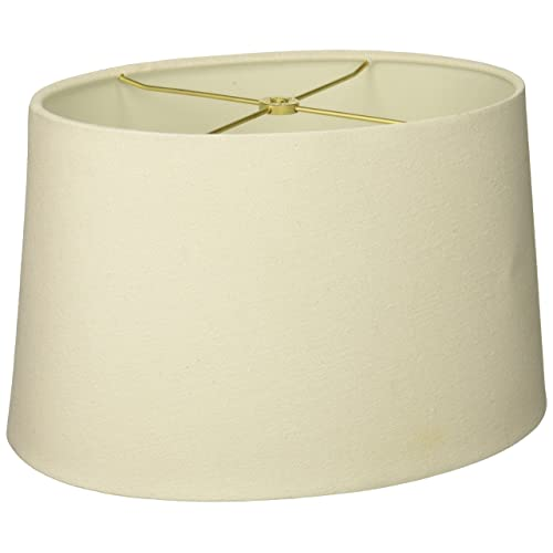 e790ef0efd5 Royal Designs Shallow Oval Hardback Lamp Shade