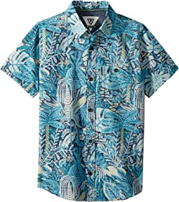 Tropical Maui Short Sleeve Woven Top (Big Kids)