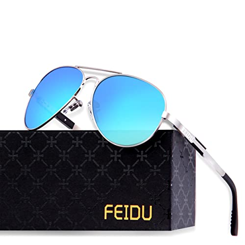 af852ca4422c Night Vision Glasses for Driving - FEIDU HD night driving glasses anti  glare polarized mens women