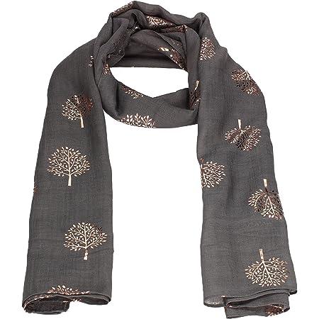 Mulberry Tree Celebrity Designer Scarf Womens Scarf Shawl Wrap Ladies Long Scarf - SWANKYSWANS