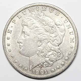 1901 O Morgan Silver Dollar $1 About Uncirculated