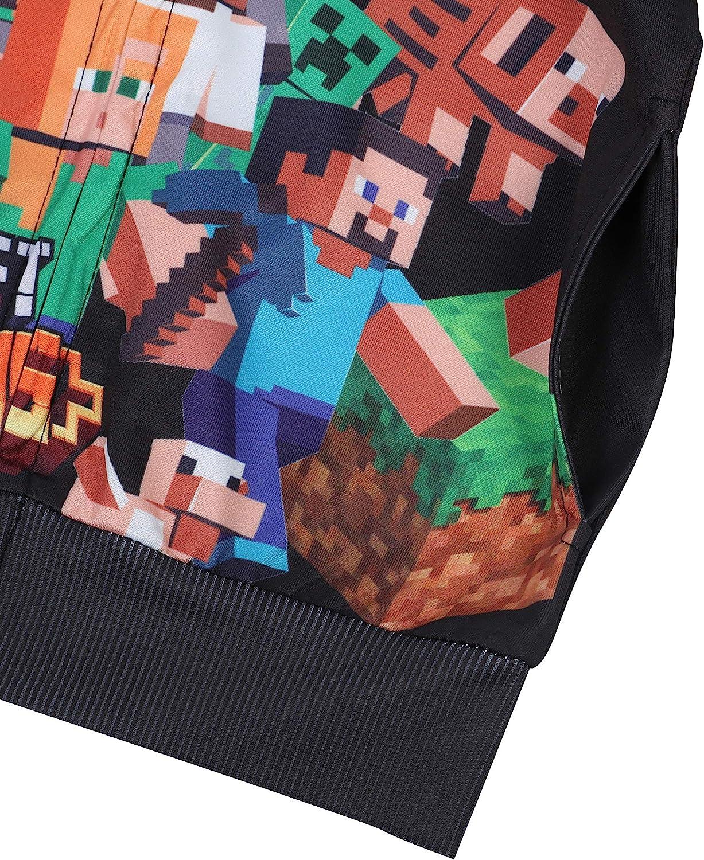 Zipper Hoodies for Kids Boys Girls 3D Print Graphic Sweatshirts Long Sleeve Casual Sweater