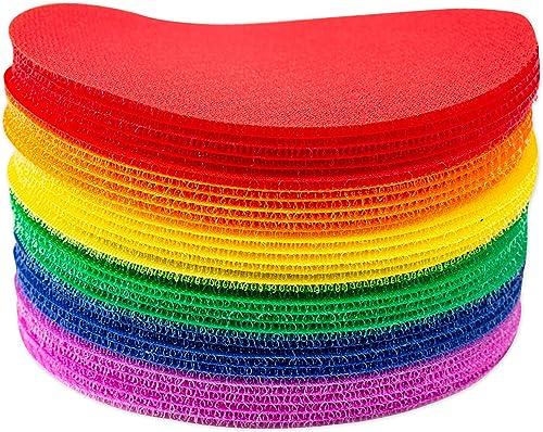 wholesale Carpet wholesale Spot Sit Markers x 2021 30 Classroom Circles for Teachers (6 Colors) online sale