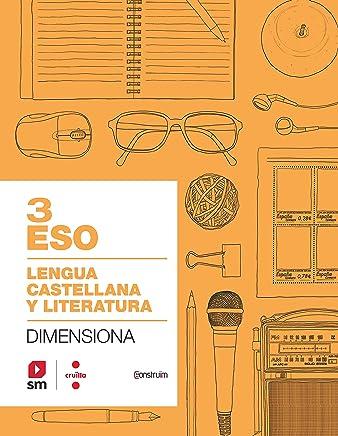 Cuaderno Lengua castellana y literatura. 3 ESO. Dimensiona. Construïm