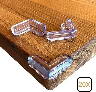 Neu 20 x Eckenschutz Kantenschutz Eckschutz Glastisch Kinder Tischkantenschutz