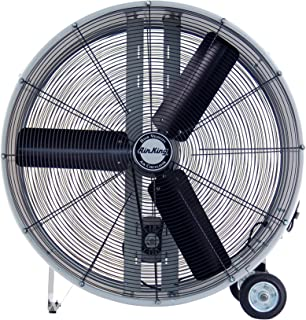 Air King 9936D Industrial Grade Belt Driven Drum Fan, 36-Inch