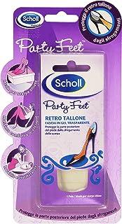 Scholl Party Feet Retro Tallone, Fascia in Gel Trasparente, 1 Paio