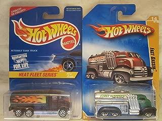 Hot Wheels Peterbilt Tank Truck & Fast Gassin Die Cast 1/64 Scale 2 Car Bundle!