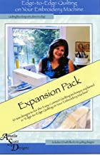 Edge to Edge Quilting on Your Embroidery Machine Expanded Pack of Different Designs