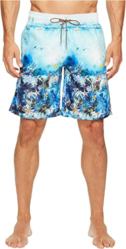 BUGATCHI - Ocean Life Swim Trunks