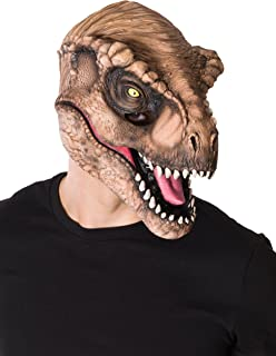 Rubie's Costume Co Men's Jurassic World T-Rex 3/4 Mask