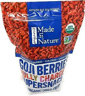 Made in Nature Organic Sun Dried Goji Berries 1.25lb(20 OZ)